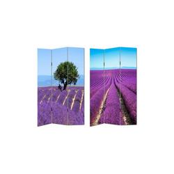 HTI-Line Paravent Paravent Lavendelfeld