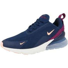 Nike Wmns Air Max 270 dark blue-bordeaux/ white-blue, 37.5