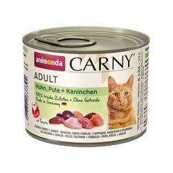 ANIMONDA Carny Adult HUHN, PUTE + KANINCHEN 200 g