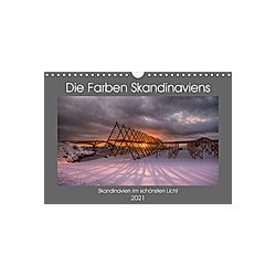 Die Farben Skandinaviens (Wandkalender 2021 DIN A4 quer)