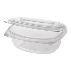 Einweg-Salatschalen »pure« 750 ml, 50 Stück transparent, Papstar, 20.5x6.6x16.8 cm