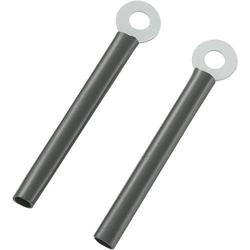TRU Components TC-CWR3-60203 Kabelhalter schraubbar 1593087 Schwarz