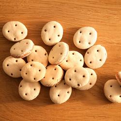 alsa-nature Lachs-Kekse, 3 x 500 g, Hundefutter