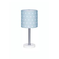 Happy Style Nachttischlampe DOTS, Kinderzimmer blau