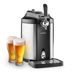 Bierzapfanlage Bierkühler 5l Partyfässer CO2 Drucksystem »Skal«, 26211951-0 schwarz schwarz