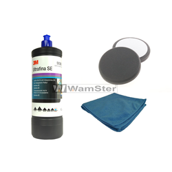 3M™ Perfect-it™ III 1L Anti Hologramm Politur 50383 + 2 xWamster™ Polierschwamm Soft schwarz