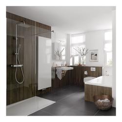 HSK RenoDeco Wandverkleidung 150 × 255 cm… Struktur-Oberfläche: Fliese, Castello-Grau