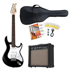 Cort G110 BK3 Black E-Gitarre Set