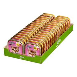 Attica Katzenfutter Junior Huhn 100 g, 32er Pack