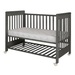 Treppy® Beistellbett Dreamy Plus 2 woody gray 60 x 120 cm