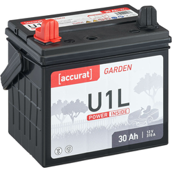 Accurat Garden U1L 12V Rasentraktor-Batterie 30Ah