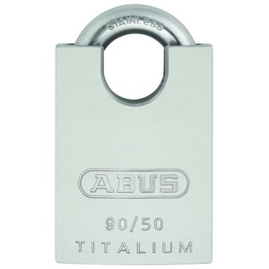 ABUS Vorhängeschloss 90RK/50 TITALIUM gleichschließend