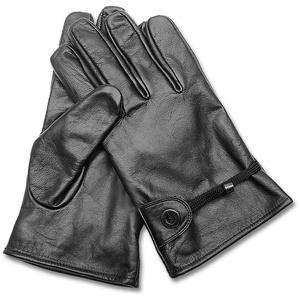 MFH - Max Fuchs Western Lederhandschuhe gefüttert schwarz, Größe S/7