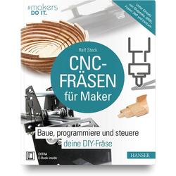 CNC-Fräsen für Maker als Buch von Ralf Steck