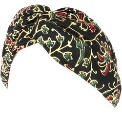 Guru-Shop Stirnband Turban Haarband, Kopfband, Stirnband - schwarz