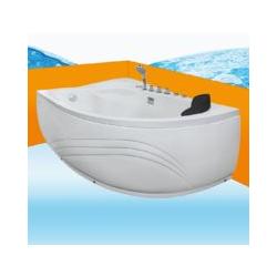 Eckwanne Whirlpool Raumsparwunder Pool Badewanne A617-A-ALL 100x160 -16629- ohne Radio und