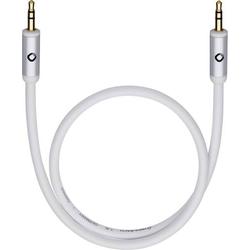 Oehlbach Klinke Audio Anschlusskabel [1x Klinkenstecker 3.5mm - 1x Klinkenstecker 3.5 mm] 1.50m Wei