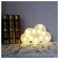Gotui LED Nachtlicht, LED Wolkenform Licht, Nachtlicht, Schlafzimmer schlafen Nachtlicht, Party Bar Dekoration Licht