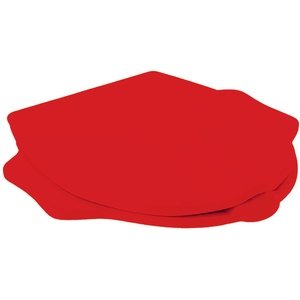 Keramag / Geberit Kind WC-Sitz im Tierdesign mit Griff / Stütze rot - 573363000