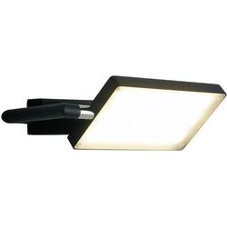 ECO-Light LED-BOOK-AP-NERO LED-BOOK-AP-NERO LED-Wandleuchte 17W Schwarz