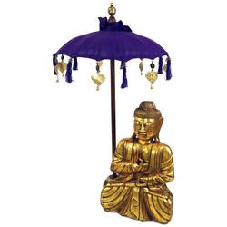Guru-Shop Dekoobjekt Zeremonienschirm, asiatischer Dekoschirm -.. 50 cm x 92 cm
