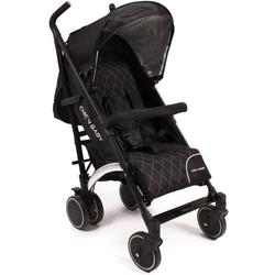 CHIC4BABY Kinder-Buggy Luca black, mit schwenkbaren Vorderrädern