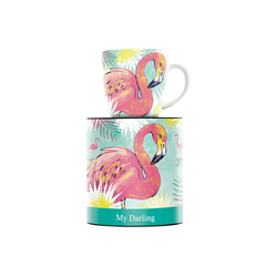 Ritzenhoff Becher My Darling Kaffeebecher Flamingo (1-tlg)