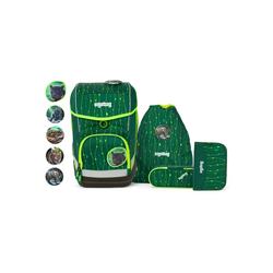 ergobag Schulranzen Cubo, PET grün