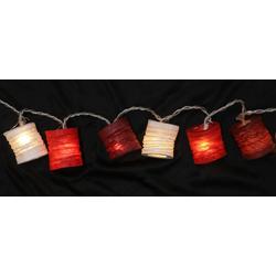 Guru-Shop LED-Lichterkette LED Lichterkette, kleine runde Lampions,..