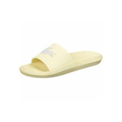 Lacoste Croco Slide 120 W Badeschuh gelb 40,5