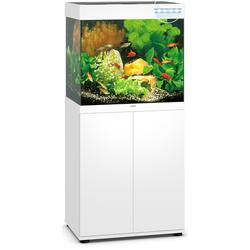 Lido 120 LED Aquarium mit Unterschrank, 120 Liter, weiß