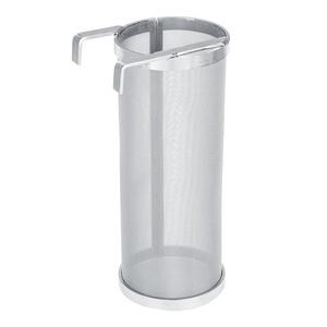 Hopfenfiltersieb für Bierbraukessel zu Hause - 300 Mikron Mesh Edelstahl, Homebrew Hopfen Bier- und Teekessel-Braufilter (3,94 x 10,04 Zoll/5,91 x 13,78 Zoll)(15 * 35cm)