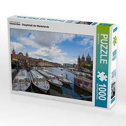 Amsterdam - Hauptstadt der Niederlande Lege-Größe 64 x 48 cm Foto-Puzzle Bild von Dirk Meutzner Puzzle