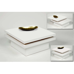 Küchen-Preisbombe Couchtisch Wohnzimmer Couchtisch Sofatisch Beistelltisch Tisch Couch Weiss schwenkbar