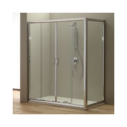 Duschtür Für Duschnische Giada 170 Cm Mit Fester Tür 80 Cm