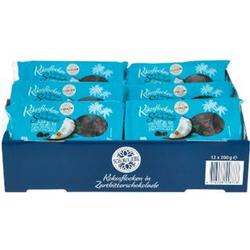 Schokoliebe Kokosflocken Zartbitter 200 g, 12er Pack