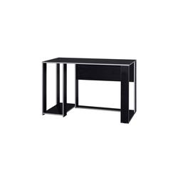 HTI-Line Schreibtisch Schreibtisch Gamer, Schreibtisch silberfarben