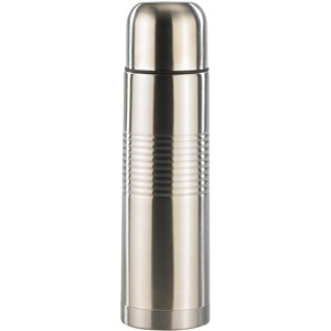 Edelstahl-Isolierflasche mit Becher 0,5 Liter