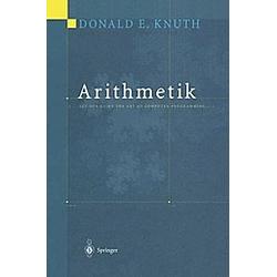 Arithmetik. Donald E. Knuth  - Buch