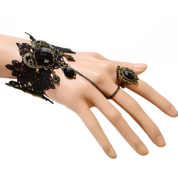 Damen Armband Gothic Collier Spitze - Armband 2