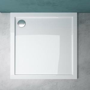 Duschtasse Duschwanne Dusche Acrylwanne Superflach Luxus Bad Dusche 4cm Faro1