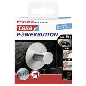 TESA 59330 tesa® Powerbutton Classic (Ø x T) 50mm x 31mm Inhalt: 1St.