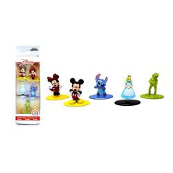 Topps Spielfigur Disney Metallfiguren Set - Nano Metalfigs - 5er, (Set)