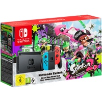 Nintendo Switch neon-rot / neon-blau + Splatoon 2 (Bundle)
