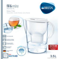 BRITA fill & enjoy Wasserfilter Marella XL weiß