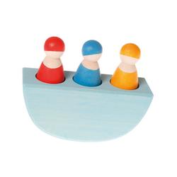 GRIMM´S Spiel und Holz Design Lernspielzeug, Steckspiel Alle Mann im Boot