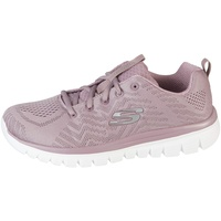 SKECHERS 12615/LAV Graceful-Get Connected Damen Sneaker violett,