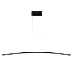 Kiom Pendelleuchte Led Pendelleuchte Kapan S schwarz 90 cm dimmbar