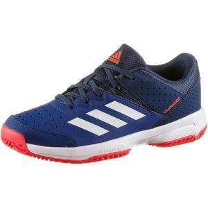 adidas Unisex-Kinder Court Stabil Handballschuhe, Mehrfarbig (Tinmis/Ftwbla/Azuosc 000), 35.5 EU