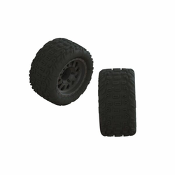Arrma ARA550091 1/10 dBoots Katar MT vormontierter Reifen 14mm Hex (2)